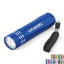 Renegade Aluminum Flashlight 9 LED