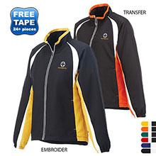 Kelton Ladies' Color Block Track Jacket
