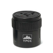 Brookstone® Global Twist Outlet Adapter