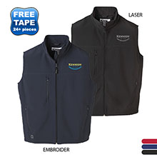 Innis Men's Bonded Fleece Soft Shell Vest