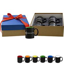 Coffee Mug Gift Box, 4 pack