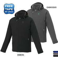 Bryce Men's Insulated Soft Shell Jacket