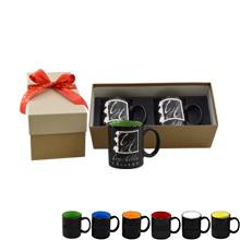 Coffee Mug Gift Box, 2 Pack