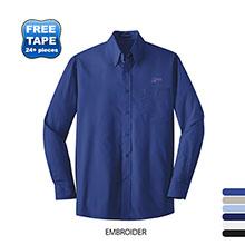 Port Authority® Long Sleeve Value Poplin Men's Shirt