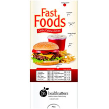 Fast Foods Nutrition Guide Pocket Sliders™