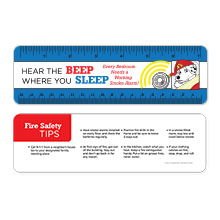 Hear the Beep Where You Sleep Laminated Safety Ruler, Stock