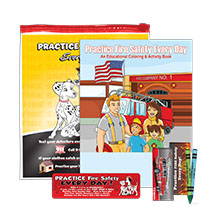 Practice Fire Safety Every Day Grab Bag Kit