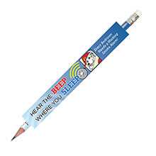 Hear the Beep Where You Sleep Pencil, Stock