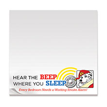 Hear the Beep Where You Sleep, 50 Sheet Sticky Pad