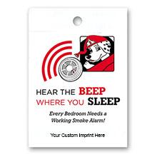 "Hear the Beep Where You Sleep 9"" x 12"" Litterbag"