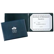 Vinyl Certificate Holder