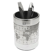 Puzzle Earth Pen Cup
