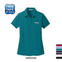 Port Authority® Ladies' Dimension Performace Polo