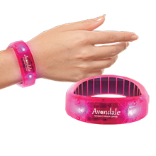 Fashion Pink LED Bracelet