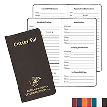 "Critter Pal Journal, 3-1/2"" x 6-1/2"""