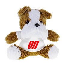 Bulldog Beasty Baby Plush, 6""