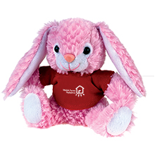"Bunny Beasty Baby Plush, 6"""