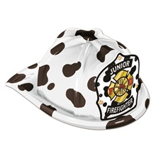 Chief's Choice Dalmatian Firefighter Hat, Jr. Firefighter Stock