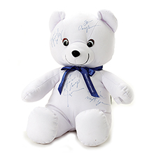 Autograph Plush Bear