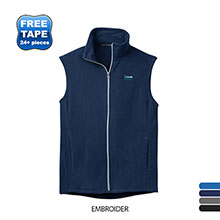 Port Authority® Microfleece Men's Vest