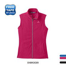 Port Authority® Microfleece Ladies' Vest