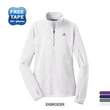 Port Authority® Microfleece 1/2-Zip Ladies' Pullover