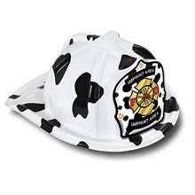 Chief's Choice Dalmatian Firefighter Hat, Jr. Firefighter Design
