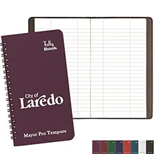 Spiral Bound Tally Book