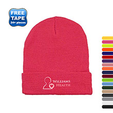 Long Knit Acrylic Beanie