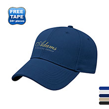 Canvas Moisture-Wicking Structured Cap