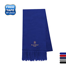 USA Tompkin Knit Scarf with Fringe