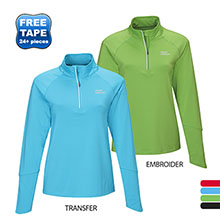 Hyperion Ladies' Performance Quarter Zip