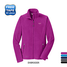 Eddie Bauer® Full Zip Microfleece Ladies' Jacket