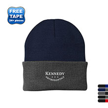 Port & Company® Acrylic Knit Cap with Contrast Cuff