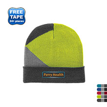 Port Authority® Cuffed Colorblock Beanie
