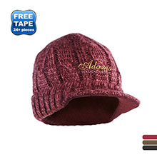 District® Cabled Knit Brimmed Hat