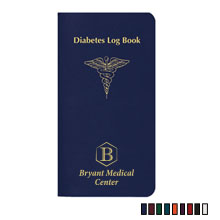 "Diabetes Log Book Journal, 3-1/2"" x 6-1/2"""