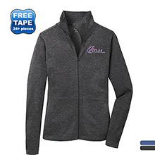 OGIO® Pixel Ladies' Full-Zip Performance Knit Jacket