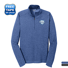 OGIO® Pixel Men's Performance Knit Quarter Zip