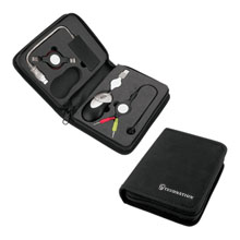 Computer Travel Kit with Mouse, Hub, Cable & Earbuds