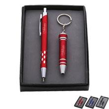 LED Pen & Screwdriver Keychain Gift Set