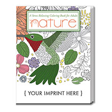 Adult Coloring Book, Nature Design Theme