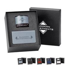 Regency Bluetooth Speaker & Power Bank (6,000 mAh) Gift Set