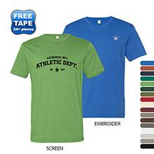 Alternative® Basic 100% Ringspun Cotton Men's Crew Tee