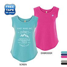 Alternative® Cap Sleeve Ladies' Cotton Crew Tee