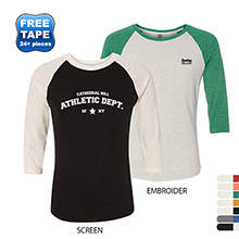 Alternative® Eco-Jersey Long Sleeve Baseball Men's Tee