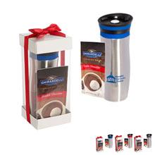 Click 'n Sip Gleam Tumbler & Ghirardelli® Cocoa Set
