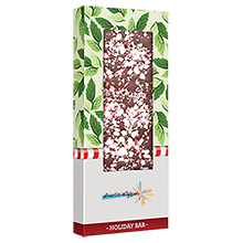Gourmet Belgian Chocolate Bar with Peppermint, 3oz.