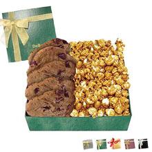 Chairman Gift Box w/ Caramel Popcorn & Cookies