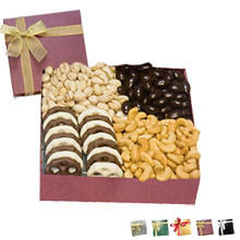 Chairman Gift Box w/ Nuts & Chocolate Covered Treats